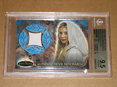 ✨ Bgs 9.5 2006 Lotr Lord Of The Rings Evolution Galadriel Wardrobe Relic Costume