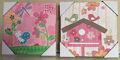 Oopsy Daisy Too Wall Art For Kids - Blossoms Pink & White/Pretty Pink Flower