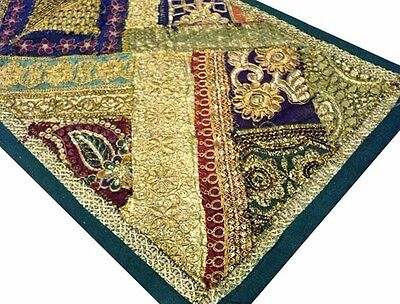"60"" Gorgeous Vintage Decor Sari Beads Sequin Runner Throw Wall Hanging Tapestry"