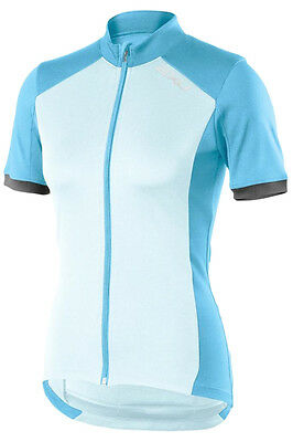 New 2Xu Active Jersey Top Women Small S Training Fitness Cycling Jacket Blue