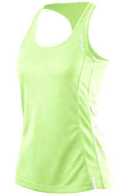 New 2Xu Tech Top X Tank Women Small S Training Fitness Singlet Uv Protection