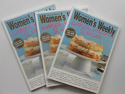 #WOMEN'S WEEKLY - CAKES, BISCUITS & SLICES ** BRAND NEW **free postage