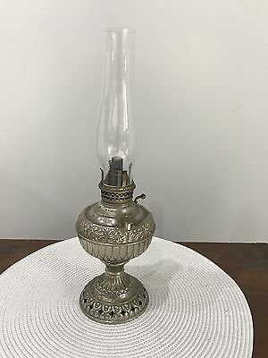 Antique Collectable The Tiny Miller miller kerosene oil lamp - Made In U.S.A