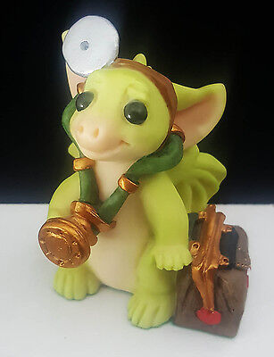 "Pocket Dragons ""Dr. Dragon"" by Real Musgrave 1999 Mint Condition No Box"