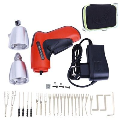 Cordless Electric Lock Pick Gun Auto Tools Locksmith Tools Lock Pick Set Lock