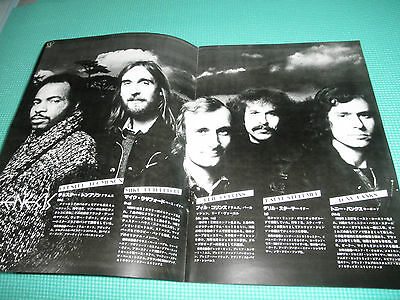 GENESIS 1978 And Then There Were Three Japan Tour Book Programme Program