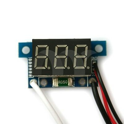 "0.36""  Blue LED Digital DC Ammeter AMP Mini Current Panel Meter DC 0 - 999mA 1A"