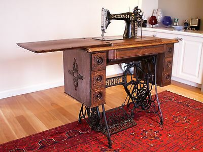 Singer Treadle Sewing Machine Antique
