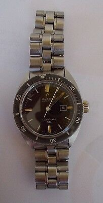 ancienne vintage montre omega seamaster 120 automatic watch lady