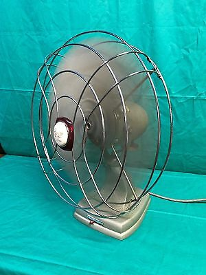 Vintage Revelair By Celco Oscillating Industrial Fan 240 V Tested and Working