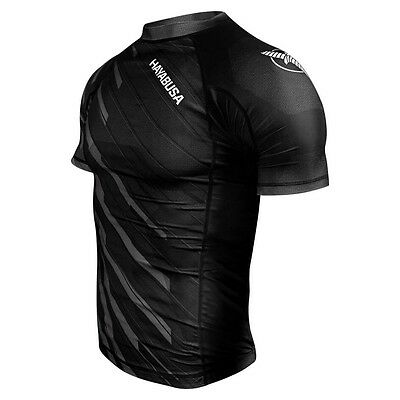 Hayabusa Metaru Charged Shortsleeve Rashguard - Black