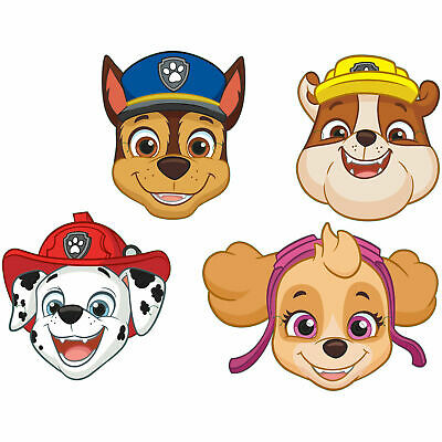 Paw Patrol Birthday Party Masks, pack of 8, by AMSCAN