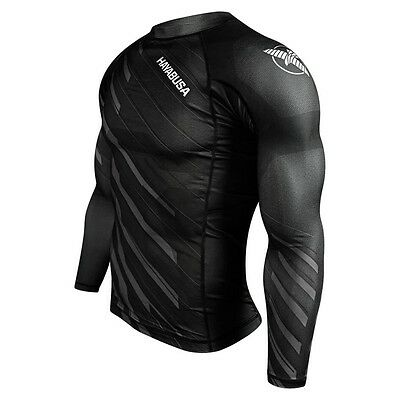 Hayabusa Metaru Charged Longsleeve Rashguard - Black