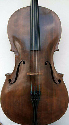Old Cello  first half XIX sec. Sound Sample YOUTUBE! antico violoncello violin