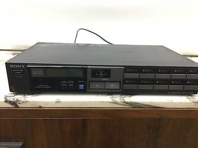 Vintage Stereo Tuner Sony ST-JX320L