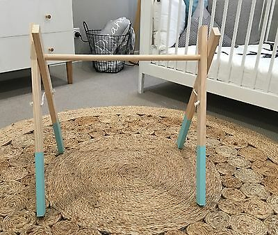 Hand Made Wooden Baby Play Gym (No Toys Included)