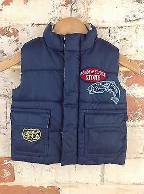 Country Road Puffer Vest - Size 3-6 Months