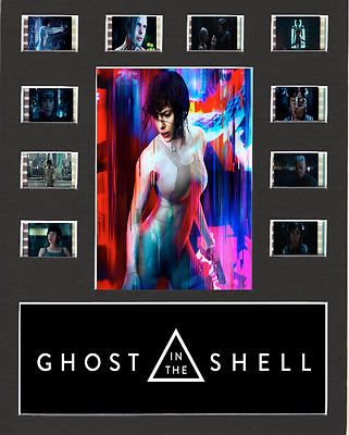 Ghost In The Shell replica Film Cell Presentation 10 x 8 Mounted 10 cells