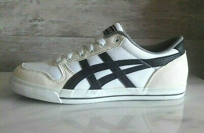 reputable site b459a b85b1 ASICS AARON MSH White Athletic Sneakers Onitsuka Tiger Casual Shoes Size  US-7
