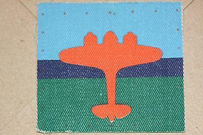 Ww2 British Air Signals Printed Cloth Patch