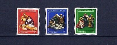canada stamps Christmas Nativity Scenes sg1080/2 1982... Mint ...