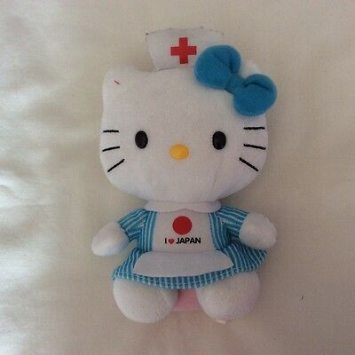 Miss Kitty Style Doll With I Love Japan On Front