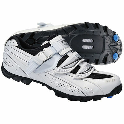 Shimano WM62 Womens Specific SPD Mountain Bike Shoes. White. Size 42. New Boxed