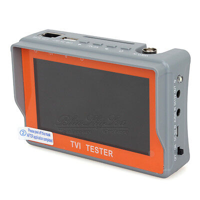 4.3inch LCD Screen Wrist HD TVI CCTV Camera Cam Video Test Monitor Cable Tester