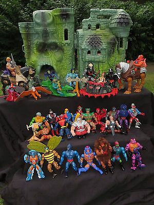 Masters of the Universe Konvolut MOTU mit Burg !!!!!!!!!