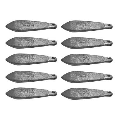 Snapper Reef Deep Sea Fishing Sinkers Lead  Various Sizes Available