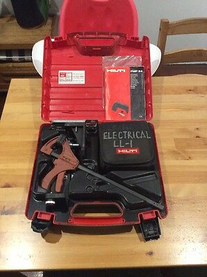 Hilti PMP34 Self Levelling Laser Level; Point Laser; Hard Case With Accessories
