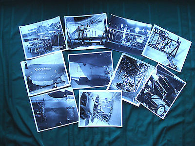 Lot of 10 Vintage Military Aircraft Photographs 1932-1944