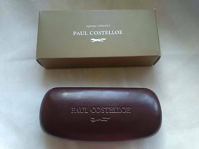 Paul Costelloe Glasses / Sunglasses Case & Lens Cloth *NEW & BOXED*