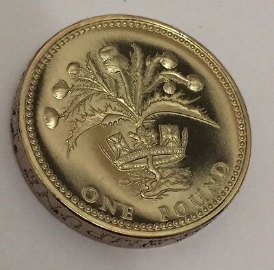 1984 PROOF One Pound Coin £1 UNC Uncirculated Vintage (F3)