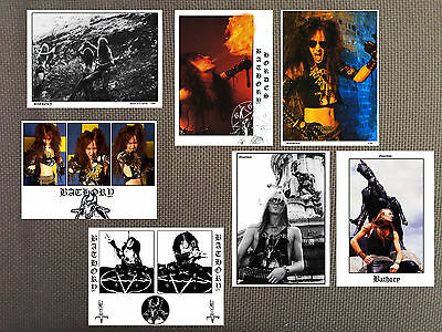 BATHORY high quality glossy photos! venom,Celtic Frost,mercyful fate, Kreator