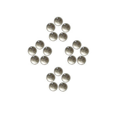 5x5mm 20pc Fine Quality Rose Cut Faceted Cabochon Natural Smokey Quartz