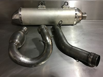 Hgs Exhaust For Ktm 250Sxf 2016/2017/2018