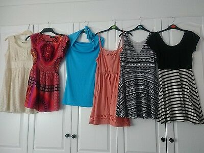 ladies summer bundle, dresses size 12 -6 items