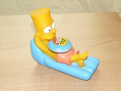 The Simpsons - Bart Simpson on sunbed inflatable soap holder - figure