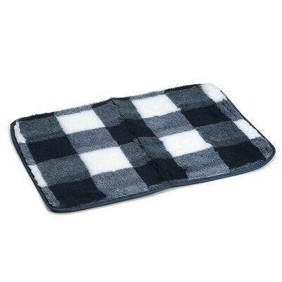 Beeztees Dog Crate Bedding Mat Polyester Washable 78x55 cm Blue and White 704014