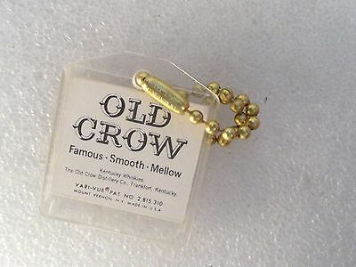 Porte Clefs Visiomatic Old Crow Famous Smooth Mellow Kentucky Whiskies