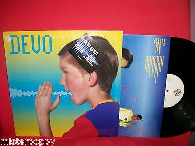 DEVO Shout LP 1984 ITALY First Pressing MINT- + Inner