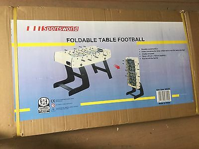 New, Still In Box. Foldable Table Football Game.