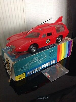 Gerry Anderson Captain Scarlet and the Mysterons  JR21 Spectrum Saloon Car
