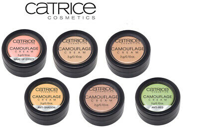 NO.1 CATRICE Camouflage Cream High Coverage Long Lasting Concealer Waterproof !!