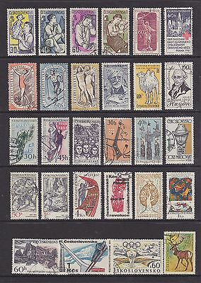 Czechoslavakia (1) - Another Good Lot Of 28 Used Stamps - See Scan