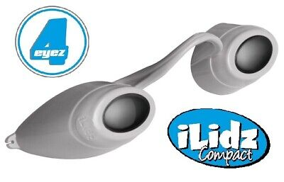 iLidz Compact Sunbed Tanning Eyewear UVA and UVB Protection GREY