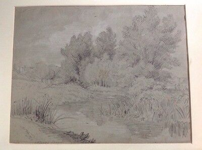 Antique Drawing Circa 1840