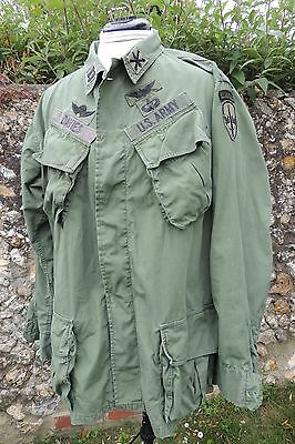 Vietnam OG 107 Tropical Coat Jungle Jacket Shirt Movie Prop Medium