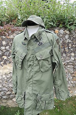 Vietnam OG 107 Tropical Coat Jungle Jacket Shirt Movie Prop Large Apocalypse Now